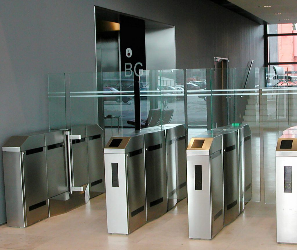 toegangscontrole poortjes